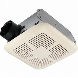 Shop broan 4 sone 70 cfm white bathroom fan at lowescom for 2100 hvi bathroom fan