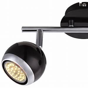 Decken Led Spots : 6 w led decken spot strahler 70er lampe chrom retro design beweglich wohnzimmer ebay ~ One.caynefoto.club Haus und Dekorationen