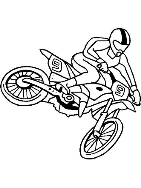 motocross coloring pages  printable motocross