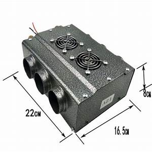 12v 6 Ports Portable Car Heating Cooling Compact Heater