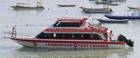 Boat Trips From Sanur by Rocky Fast Cruise The Best Way To Lembongan