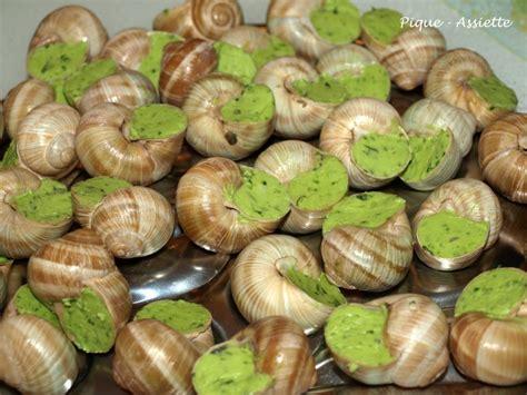 cuisiner les escargots escargots de bourgogne pique assiette
