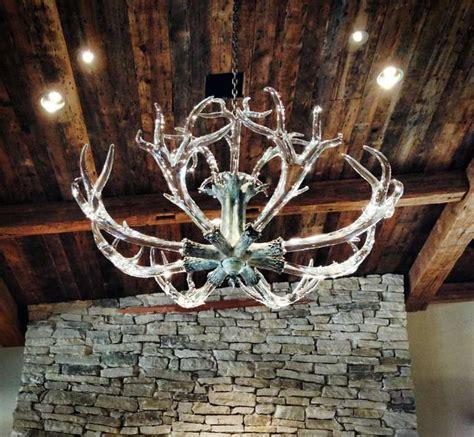 stunning antler chandelier by jason lawson at