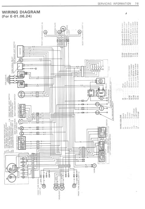 Gsxr 750 Wiring Diagram by 1985 Gsxr 750 Service Manual Scan Carb Section