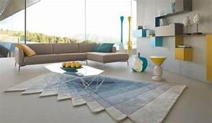 le salon signe cedric ragot pour roche bobois 25 04 2013 With tapis couloir avec canapé contemporain roche bobois