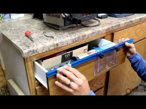 drilling jig for cabinet and drawer handles deluxe drawer pull jig it rockler woodworking and hardware