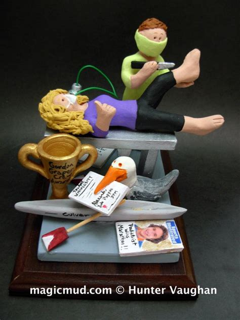 christmas gifts for doctors offices 124 best graduation figurines custom made images on