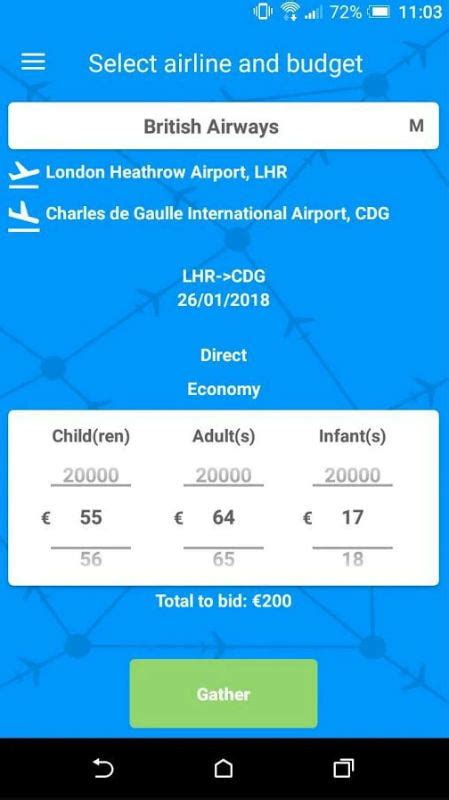 Bid On Airline Tickets Air Ticket Arena Lets You Bid On Last Minute Airline Seats