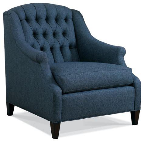 jeanie tufted chair denim blue contemporary armchairs