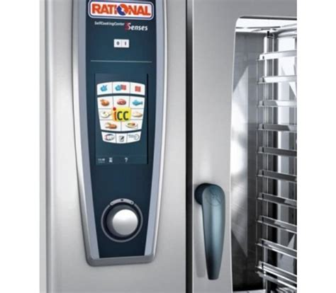 Rational Scc 61 Rational Rational Scc Combisteamer 61g Gas Selfcooking Center Type 61 6 X 1 1gn Or 12 X 1
