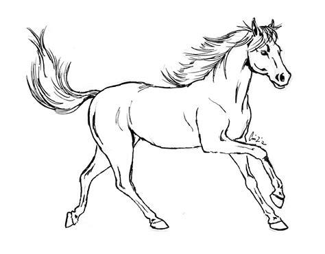 immagini di cavalli da colorare per bambini disegni di cavalli da colorare portale bambini