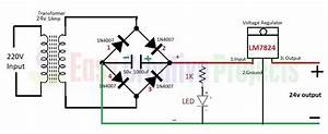 How To Make 24v Adapter Or Dc Power Supply Easy At Home