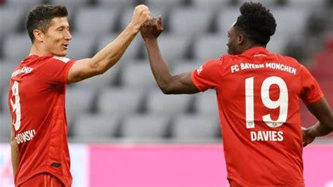 Bayern Munich 5-0 Fortuna Dusseldorf: Robert Lewandowski ...