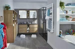 La Salle De Bain : les astuces d 39 une salle de bains familiale tout confort ~ Dailycaller-alerts.com Idées de Décoration