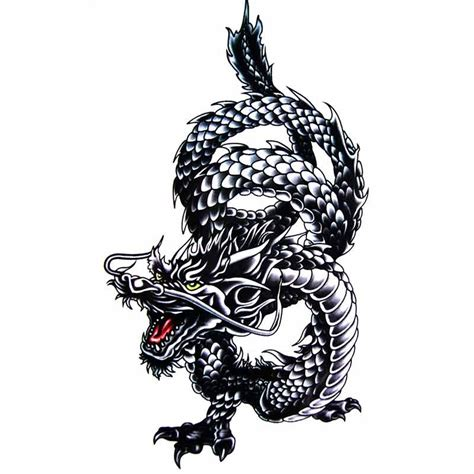 tatouage ephemere dragon faux tatouage dragon tatouage