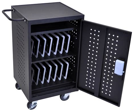 tablet storage and charging cabinet ipad storage case locking secuirty unit for 30 tablets