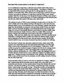 Good Essay Topics For High School Willy Loman Eulogy Essay Examples Narrative Essay Examples For High School also Topics For Synthesis Essay Willy Loman Essay Long Essay On Pollution Linda Loman Character  Mental Health Essays