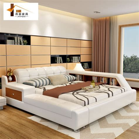 10810 bedroom sets with mattress bedroom furniture china leather bed tatami bed minimalist