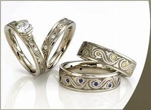 21 beautiful celtic style wedding rings navokalcom With celtic style wedding rings