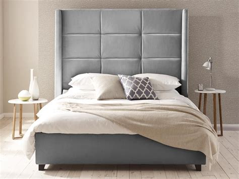 With Its Huge Winged Headboard