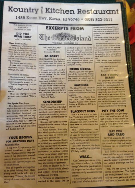 kountry kitchen menu memphis wow blog