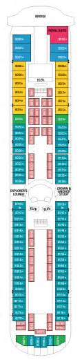 international cruise grandeur of the seas deck plan