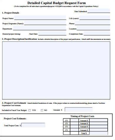 budget request form tipsenseme