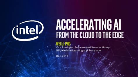 Accelerating Ai From The Cloud To The Edge