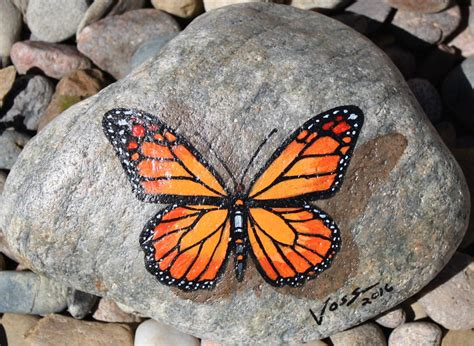 Butterfly And Stones by Paintings For Sale Gallery Voss Creative
