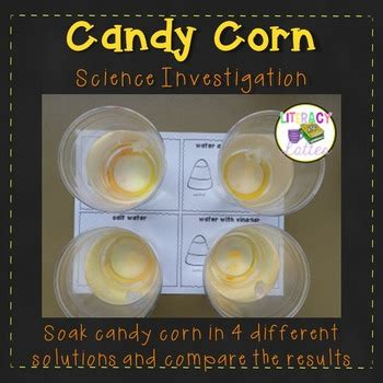 candy corn experiment  halloween science lab
