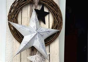 Free, Picture, Star, Wreath, Door, Christmas, Decoration