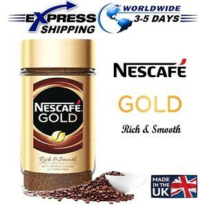 Nestlé first began developing instant coffee at the initiative of the brazilian government in 1930 to help preserve surpluses from the annual. NESCAFE Gold Rich & Smooth Arabica Ground The Finest Instant Coffee Beans 100 g | eBay