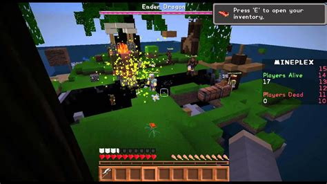 playing dragons  mineplex minecraft java versionpc