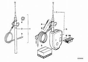 Bmw 635csi Wiring Rear  5400mm  Antenna  Electrical