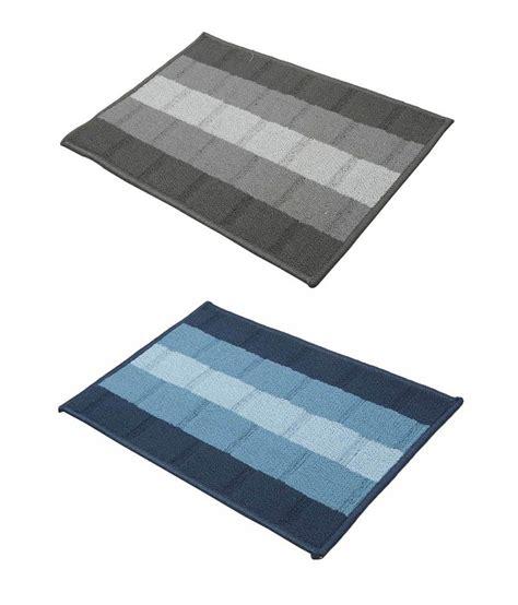 Cotton Door Mat by Pep Home Multicolour Cotton Door Mat Set Of Two Buy