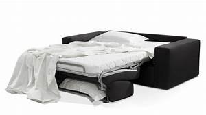 canape lit 2 places en tissu couchage 120 cm pas cher With canapé lit quotidien pas cher