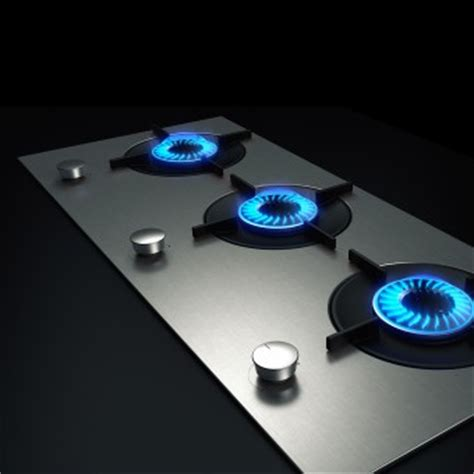 luminist direct flame gas hob system