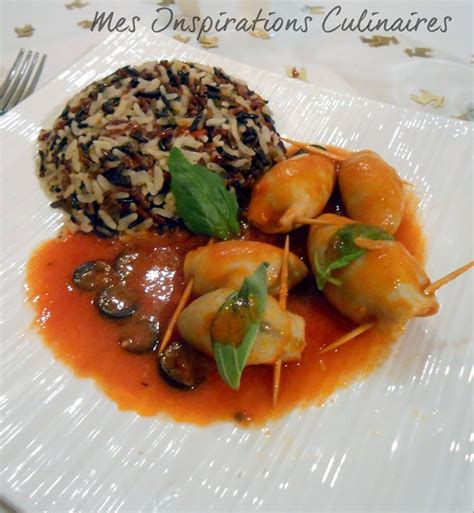 cuisine en facile encornets farcis recette facile le cuisine de samar