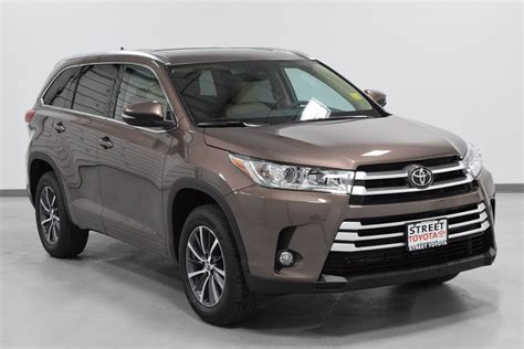 New 2018 Toyota Highlander Xle For Sale Amarillo Tx 19597