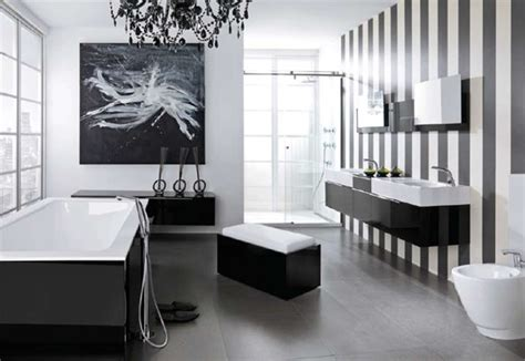 monochrome bathroom ideas modern black and white bathroom design from noken digsdigs