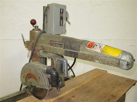 Dewalt Gw1 Radial Arm Saw 10
