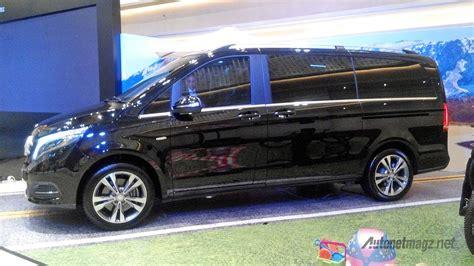 Gambar Mobil Mercedes V Class by Fitur Mercedes V Class Indonesia Autonetmagz