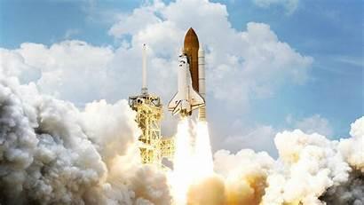 Shuttle Space Launch Wallpapers Atlantis Wallpapersafari Rocket