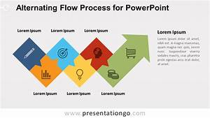 Alternating Flow Process For Powerpoint
