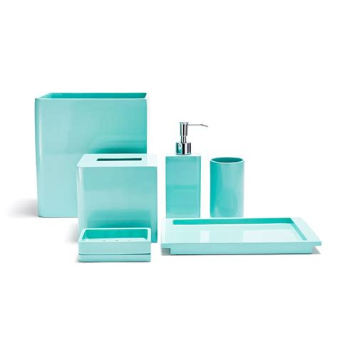 Teal Colored Bathroom Accessories by Best 25 Turquoise Bathroom Accessories Ideas On