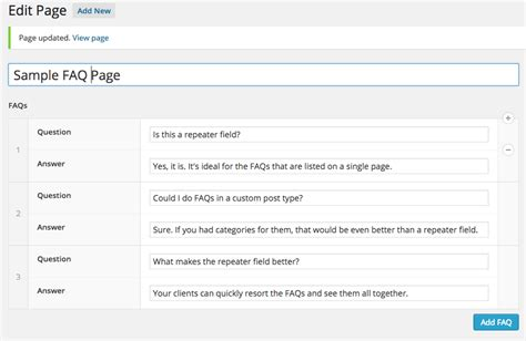 acf display custom field from user profile in a template custom post types vs acf repeater fields james steinbach