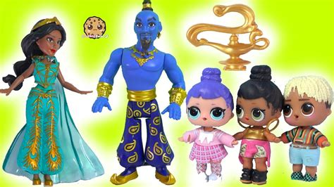 Magic Genie Grants Wishes LOL Surprise Disney Aladdin