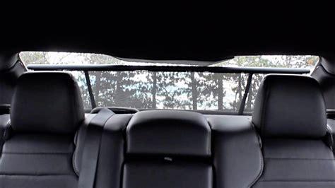 rear window power sunshade    ford
