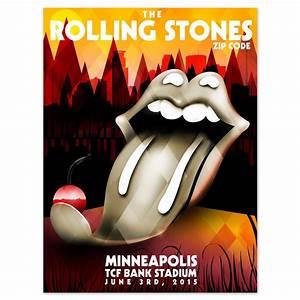 Minneapolis MN USA 3-June-2015 Rolling Stones live show ...