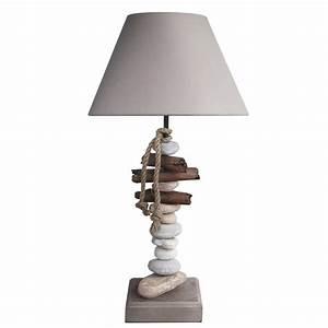 Table De Chevet Leroy Merlin : lampe benodet seynave coton naturel 60 w leroy merlin ~ Melissatoandfro.com Idées de Décoration